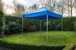Easy Up partytent 4x4 m Blauw GO-UP50 Grizzly Outdoor