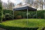 Easy Up vouwtent Grizzly Outdoor 4x4 m PVC GO-UP50 Zwart