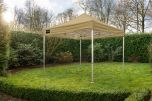 Grizzly Outdoor easy-up 4x4 m zand kleur