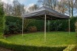 Easy Up 3x4,5 PVC GO-UP40-PVC Zwart Grizzly Outdoor