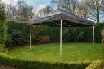 Easy Up 3x4,5 m GO-UP50-PVC Zwart Grizzly Outdoor