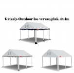 Grizzly-Outdoor 2.2 professional vervang dak 4x4