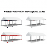 los vervangdak grizzly-outdoor professional 2.2 meter