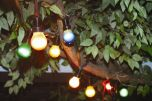 Prikkabel feestverlichting 10 lamps