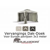 Grizzly Europe paviljoen dak 3x3