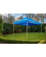 Easy Up partytent 3x4,5 m Pro-40 Blauw Grizzly Outdoor