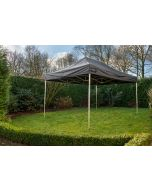 Easy Up 3x4,5 m Pro-50 PVC Zwart Grizzly Outdoor