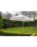Grizzly Outdoor Easy Up partytent 3x6 m Pro-50 PVC Wit