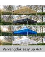 vervangdak grizzly outdoor easy up 4x4 meter