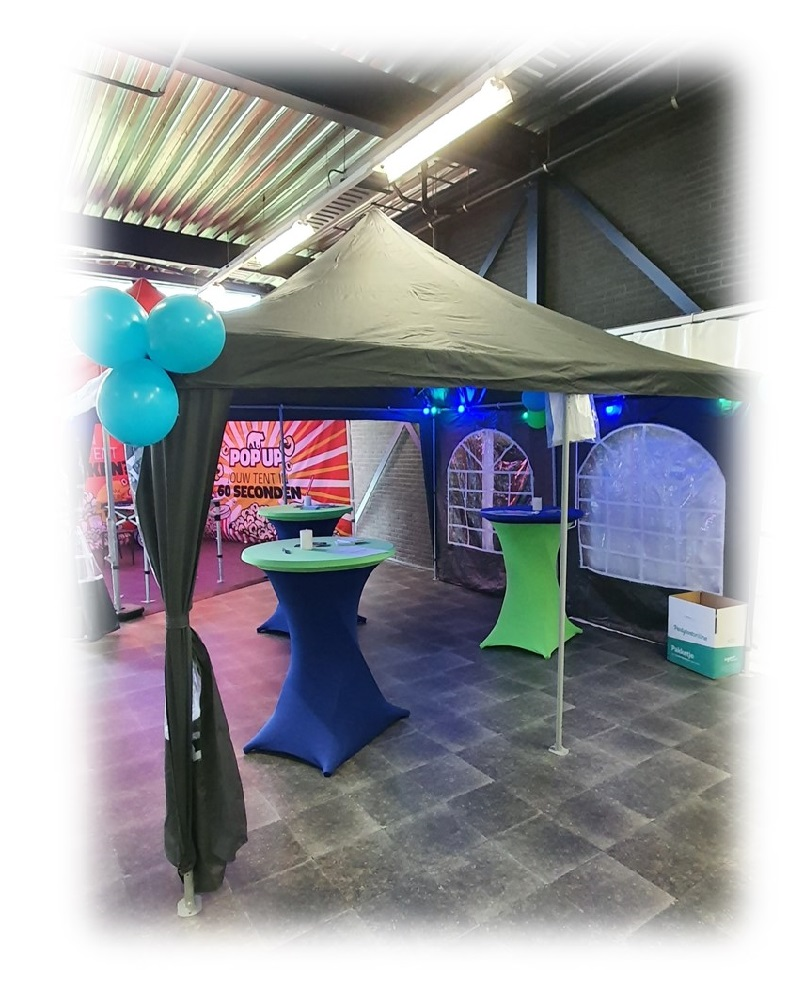 Pagode Partytent 4x4m